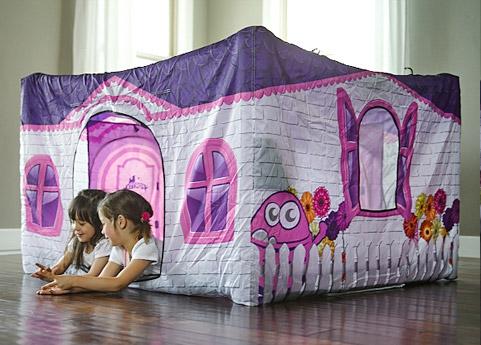 Fortsy Kinderzelte - Pretty Playhouse innen