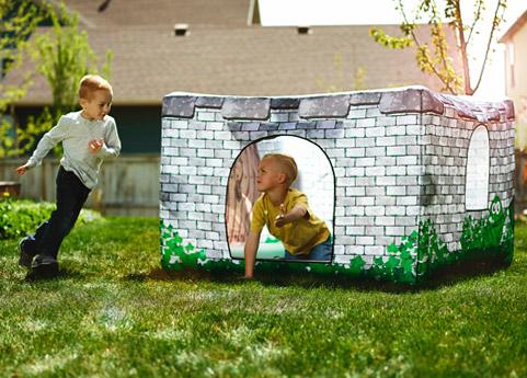 Fortsy Kinderzelte - Royal Castle draußen