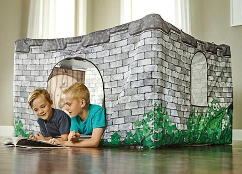 Fortsy Kinderzelte - Royal Castle drinnen