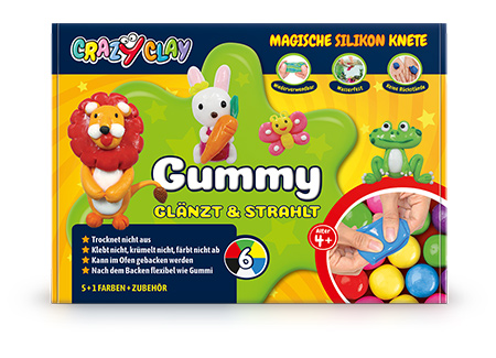 CrazyClay Gummy Basicbox - Frontal