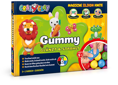 CrazyClay Gummy Basisbox - Frontal perspektivisch