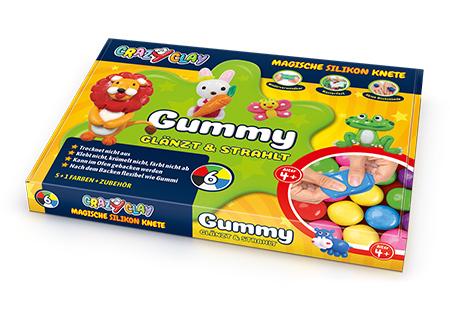 CrazyClay Gummy Basicbox - Liegend
