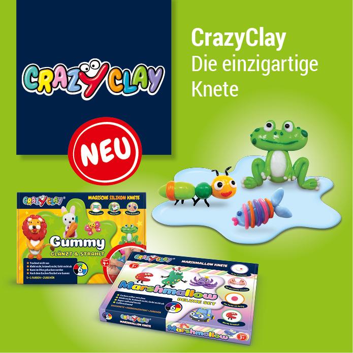 TrendBuzz CrazyClay - Die einzigartige Knete
