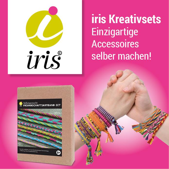 iris Kreativsets - Einzigartige Accessoires selber machen!