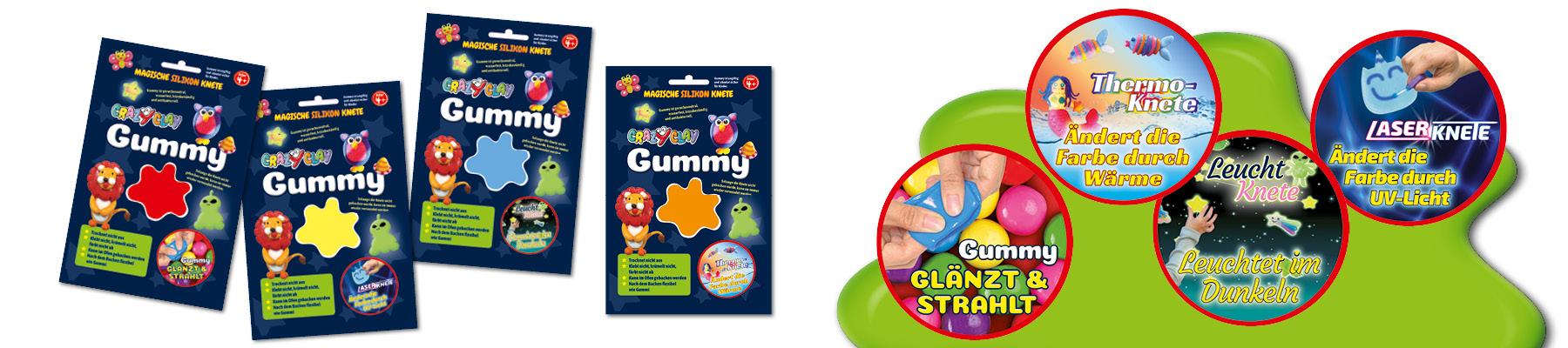 Gummy Einzelfarben