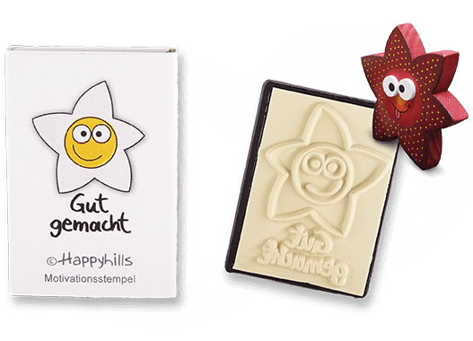 Happyhills Motivationsstempel