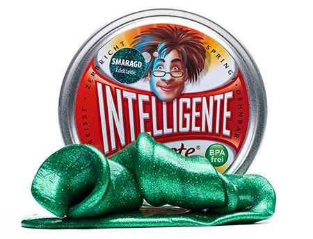 Intelligente Knete - Smaragdgrün